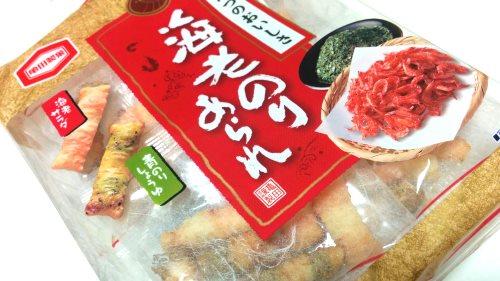 亀田製菓「海老のりあられ」 (1)