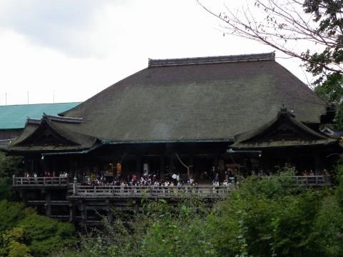 清水寺の舞台