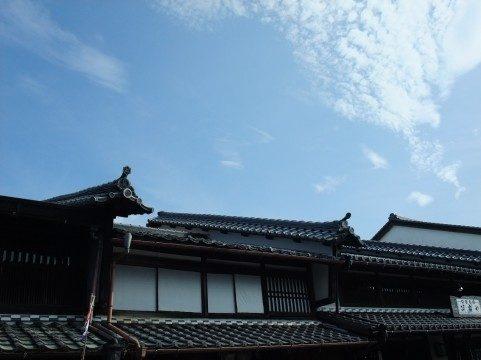 江戸時代のような空
