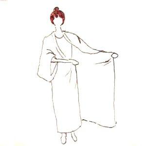 旅館の浴衣の着方
