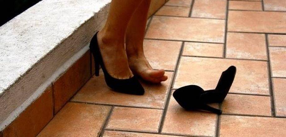 靴擦れヒール