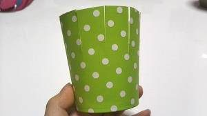紙コップ ラッピング 簡単