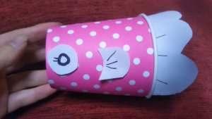 鯉のぼり手作り紙コップ作り方