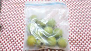 梅シロップ 作り方